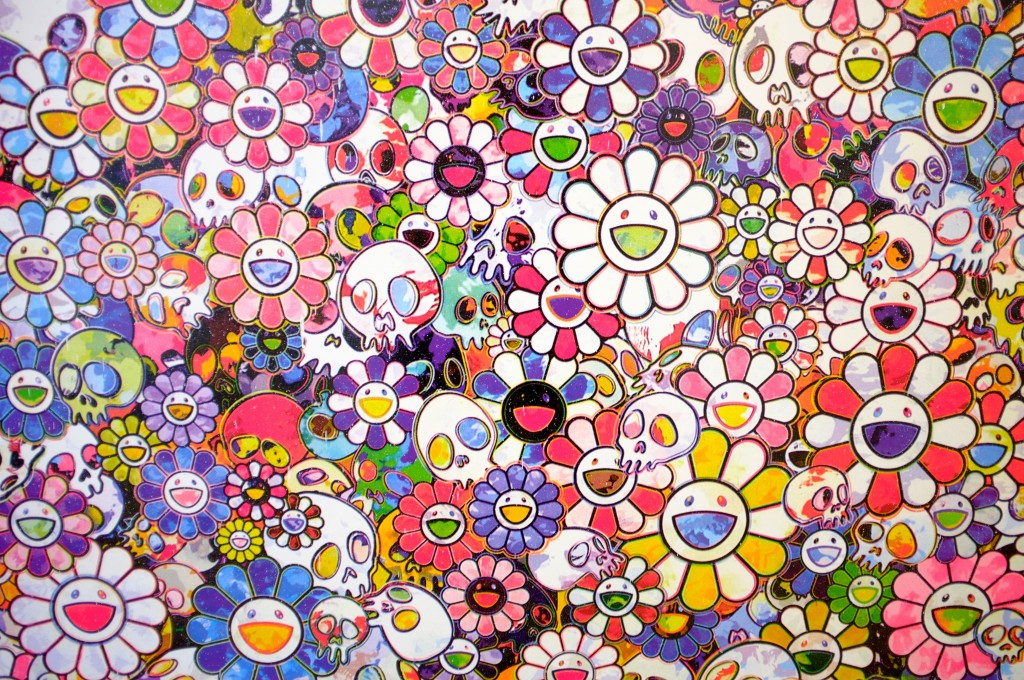 Takashi Murakami In The Land Of The Dead Stepping On